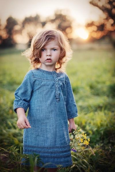 fotografia dziecięca złota godzina