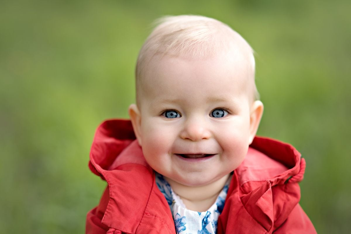 Zdjęcie dziecka na sesji fotograficznej w Krakowie