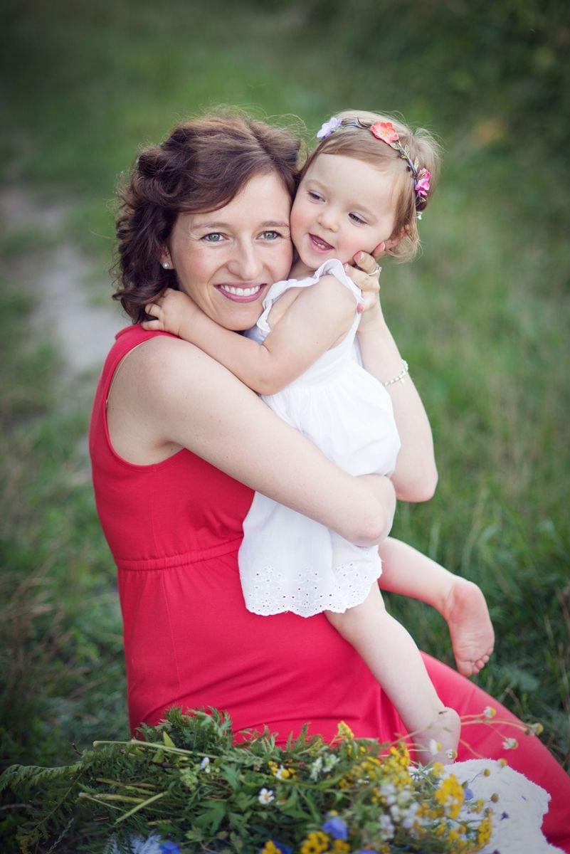 sesja plenerowa z córką