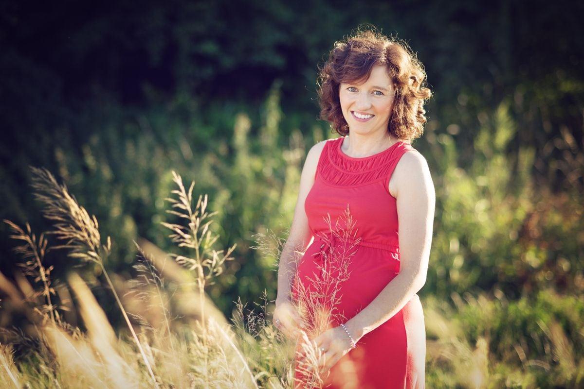 Fotograficzny plener ciążowy