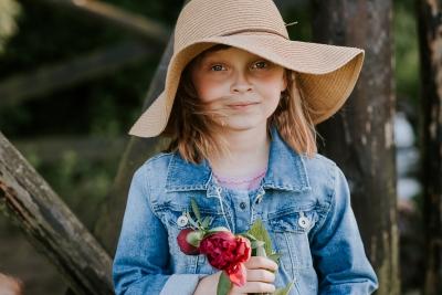 krakowska sesja portretowa dziecka