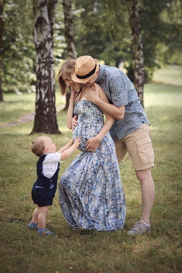Fotografia ciążowa w plenerze