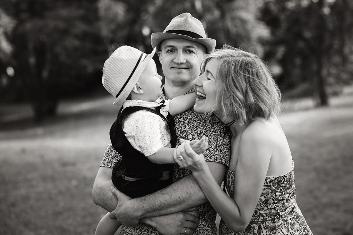 Plenerowe zdjęcie rodzinne