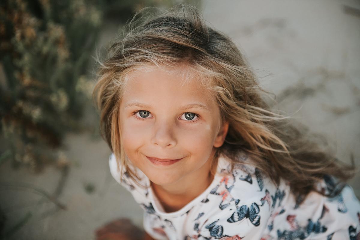 portret dziecka kadr z sesji