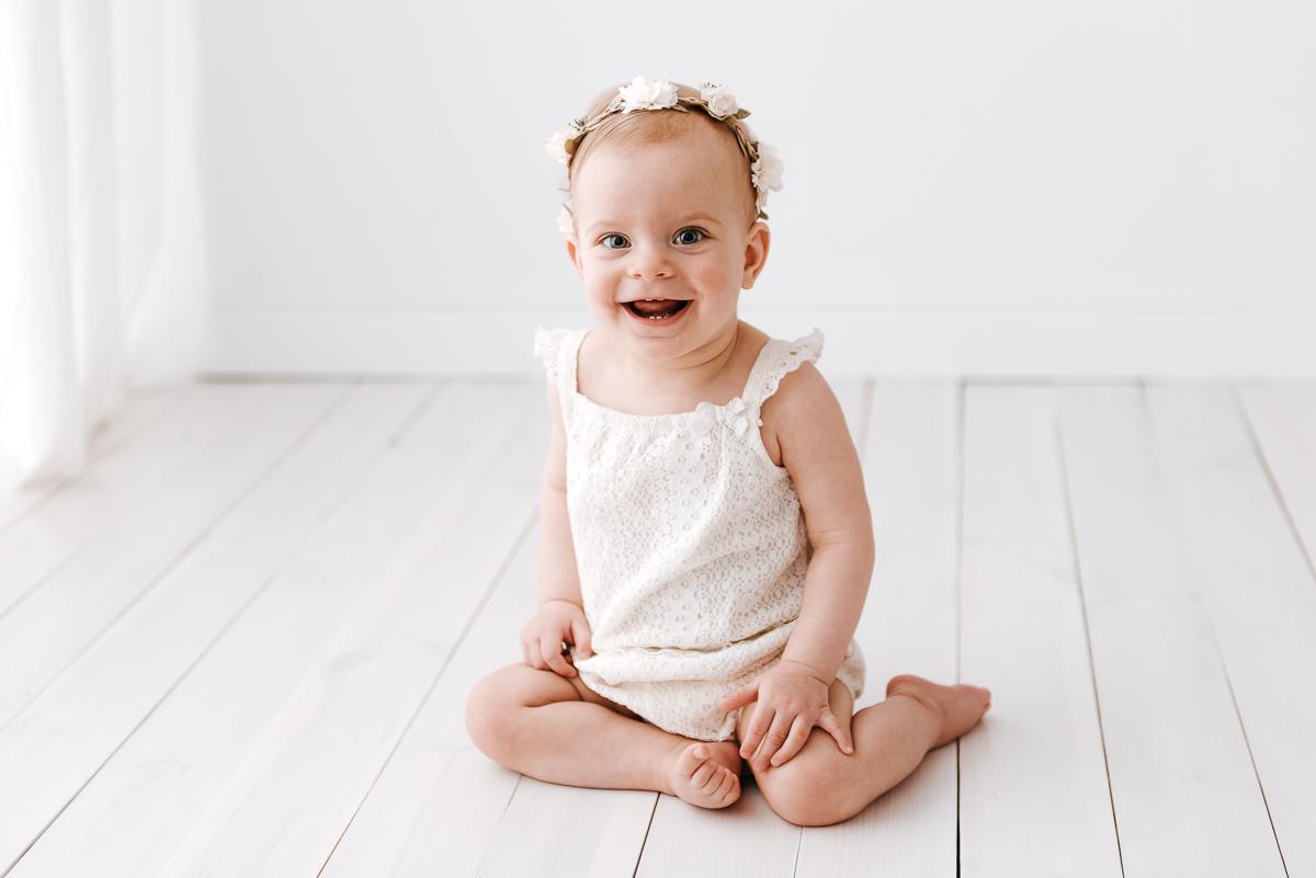 Sesja niemowlęca w kadrach znanego fotografa z Krakowa