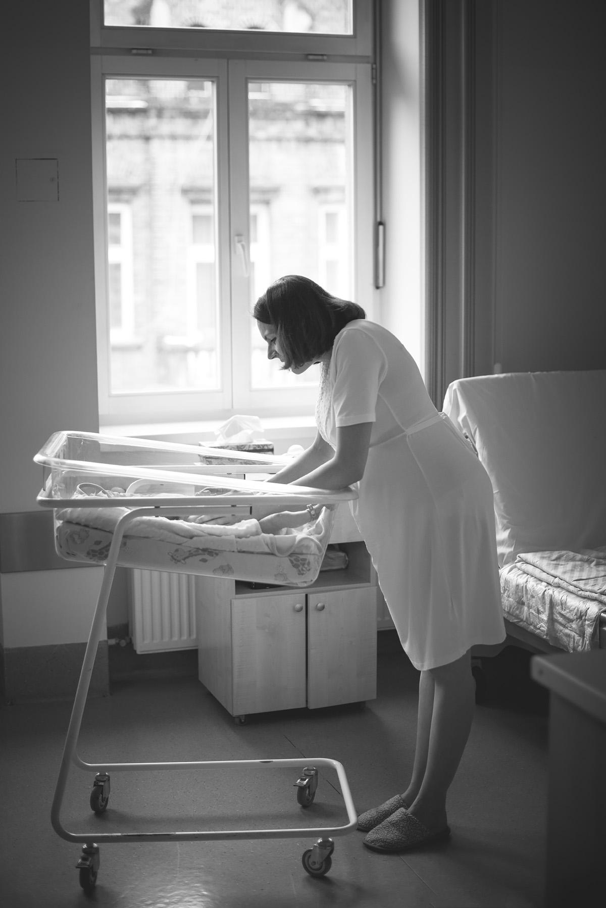 Pamiątkowy reportaż z pierwszych dni po narodzinach dziecka