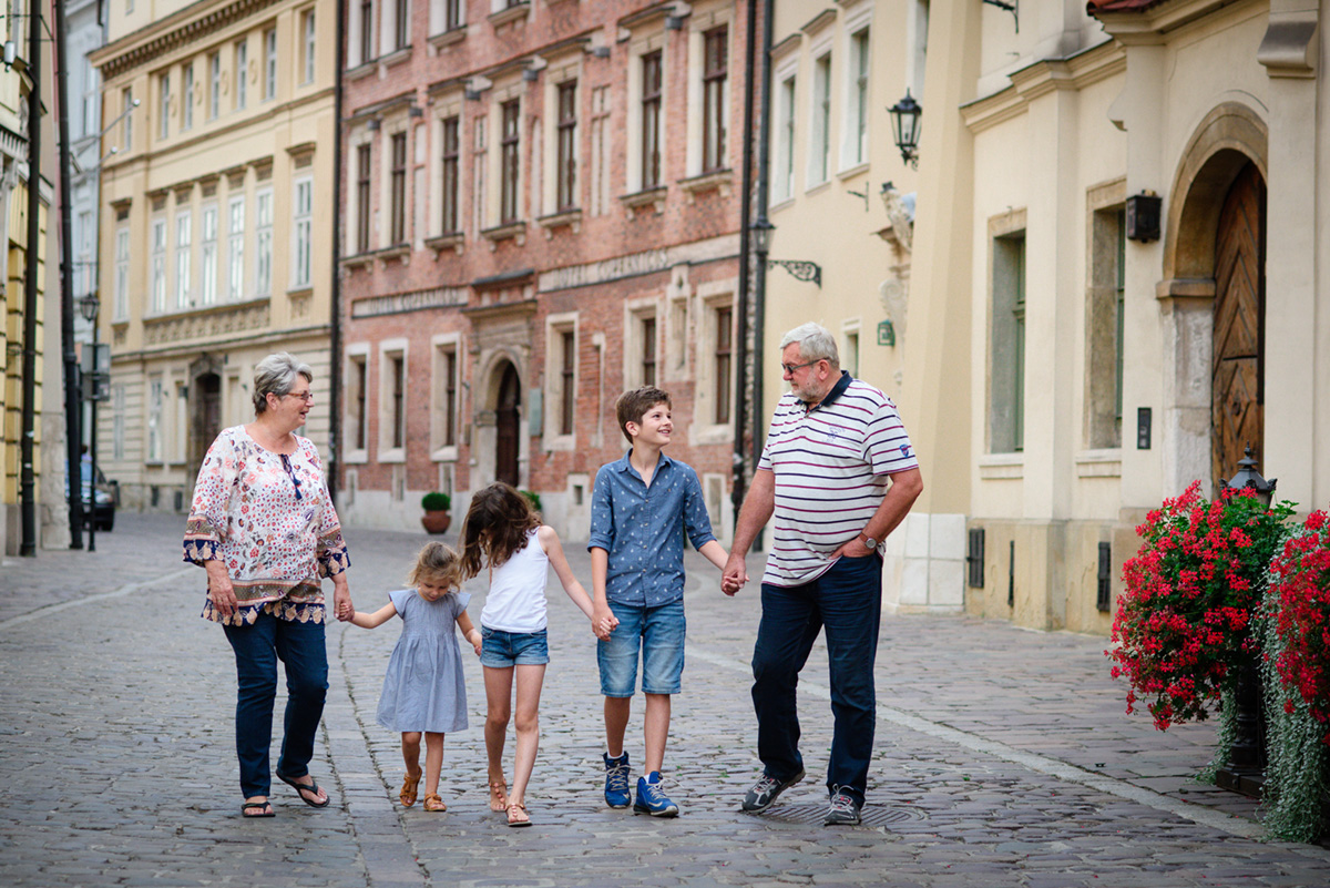 Sesja z wnukami