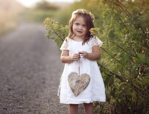 Fotografia dziecięca, plenerowa sesja Lei