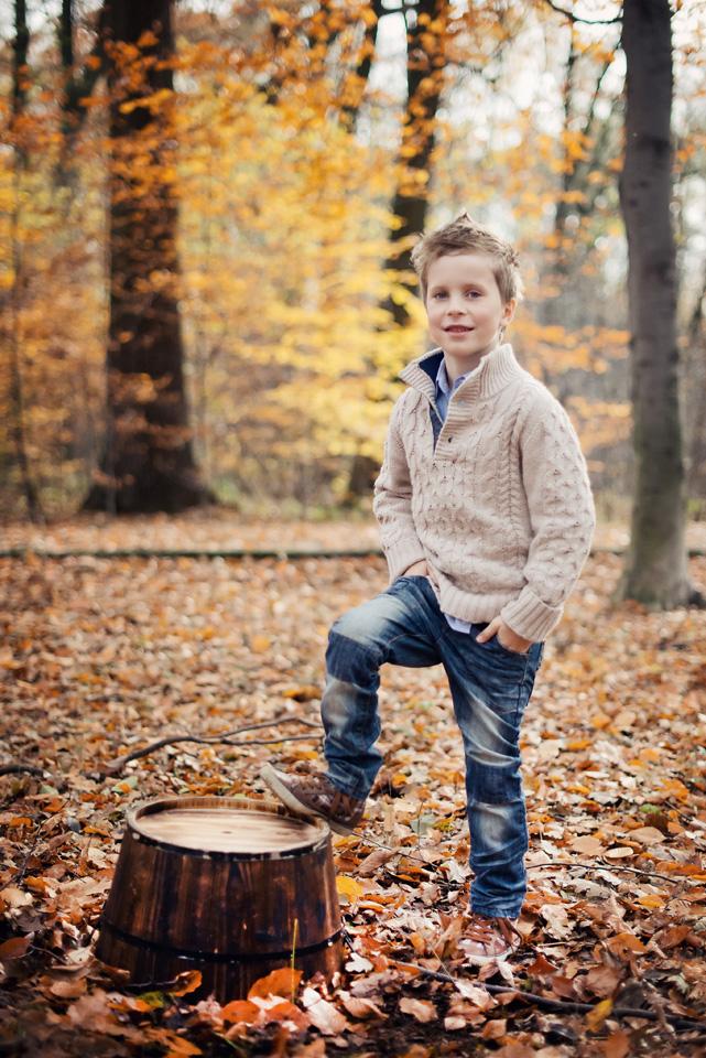 Jesienna sesja plenerowa