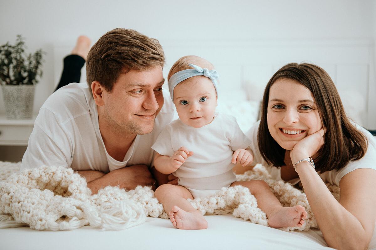 Sesja rodzinna w krakowskim studio fotograficznym